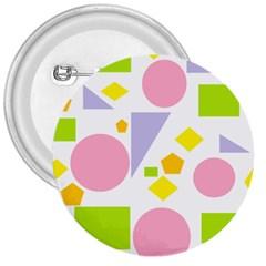 Spring Geometrics 3  Button by StuffOrSomething