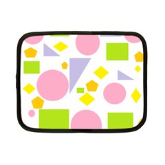 Spring Geometrics Netbook Sleeve (small) by StuffOrSomething