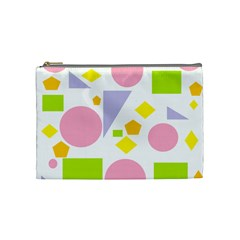 Spring Geometrics Cosmetic Bag (medium) by StuffOrSomething