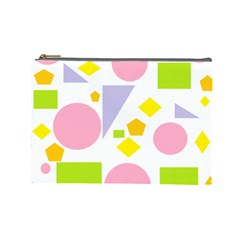 Spring Geometrics Cosmetic Bag (large) by StuffOrSomething