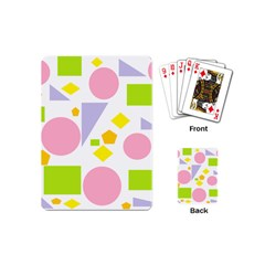 Spring Geometrics Playing Cards (mini) by StuffOrSomething
