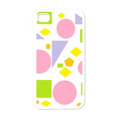 Spring Geometrics Apple Iphone 4 Case (white) by StuffOrSomething
