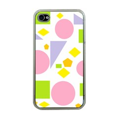 Spring Geometrics Apple Iphone 4 Case (clear) by StuffOrSomething