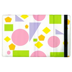 Spring Geometrics Apple Ipad 2 Flip Case by StuffOrSomething