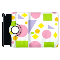 Spring Geometrics Apple Ipad 2 Flip 360 Case by StuffOrSomething