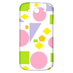Spring Geometrics Samsung Galaxy S3 S Iii Classic Hardshell Back Case by StuffOrSomething