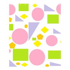 Spring Geometrics Shower Curtain 60  X 72  (medium) by StuffOrSomething