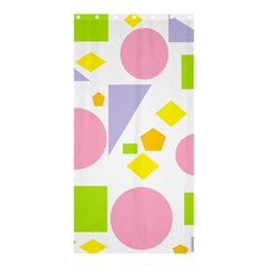 Spring Geometrics Shower Curtain 36  X 72  (stall) by StuffOrSomething
