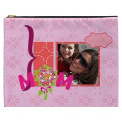Mothers Day By Mom   Cosmetic Bag (xxxl)   277claoycseo   Www Artscow Com Front