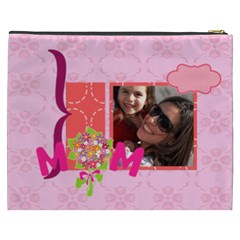 Mothers Day By Mom   Cosmetic Bag (xxxl)   277claoycseo   Www Artscow Com Back
