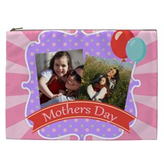 Mothers Day By Mom   Cosmetic Bag (xxl)   C8jtc6b7wtbf   Www Artscow Com Front