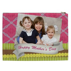 Mothers Day By Mom   Cosmetic Bag (xxl)   7xyrf13c66kj   Www Artscow Com Back