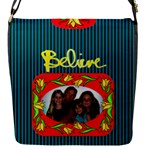 Believe flap closure messenger bag, small - Flap Closure Messenger Bag (S)