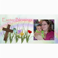 Easter Blessings 8x4 By Angeye   4  X 8  Photo Cards   Xy3bg29fk7ew   Www Artscow Com 8 x4 Photo Card - 8