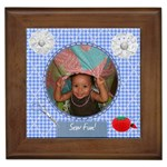 sew tile - Framed Tile