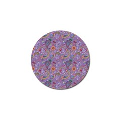 Purple Paisley Golf Ball Marker 4 Pack by StuffOrSomething