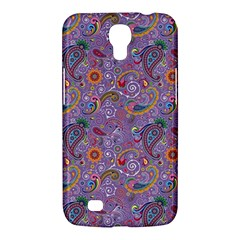 Purple Paisley Samsung Galaxy Mega 6 3  I9200 Hardshell Case by StuffOrSomething