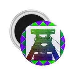 Mine 2 25  Button Magnet