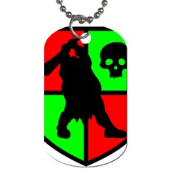 Angry Ogre Games Logo Dog Tag (one Sided) by AngryOgreGames
