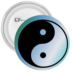 Ying Yang  3  Button by Siebenhuehner