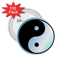 Ying Yang  2 25  Button (100 Pack) by Siebenhuehner