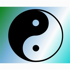 Ying Yang  Canvas 16  X 20  (unframed) by Siebenhuehner