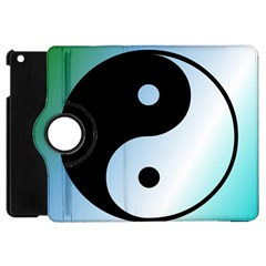 Ying Yang  Apple Ipad Mini Flip 360 Case by Siebenhuehner
