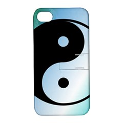 Ying Yang  Apple Iphone 4/4s Hardshell Case With Stand by Siebenhuehner