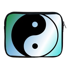 Ying Yang  Apple Ipad Zippered Sleeve by Siebenhuehner