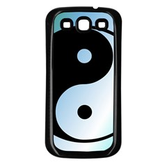 Ying Yang  Samsung Galaxy S3 Back Case (black) by Siebenhuehner