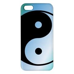 Ying Yang  Iphone 5s Premium Hardshell Case by Siebenhuehner