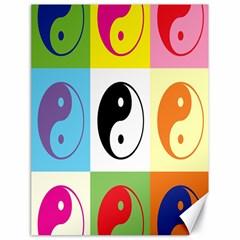 Ying Yang   Canvas 18  X 24  (unframed) by Siebenhuehner