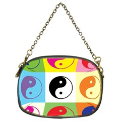 Ying Yang   Chain Purse (two Sided)  by Siebenhuehner