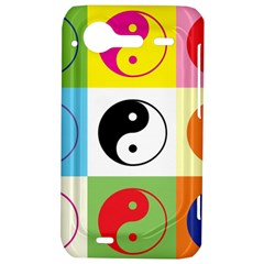 Ying Yang   HTC Incredible S Hardshell Case  by Siebenhuehner