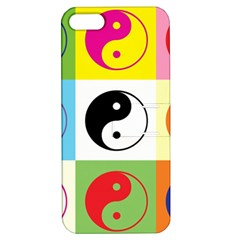Ying Yang   Apple Iphone 5 Hardshell Case With Stand by Siebenhuehner