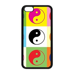 Ying Yang   Apple Iphone 5c Seamless Case (black) by Siebenhuehner