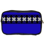 Misha Blue Sweater - Toiletries Bag (Two Sides)
