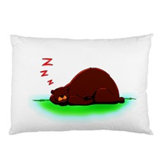 Sleep Like A Bear Pillow Case