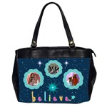 Believe office handbag, #2 - Oversize Office Handbag (2 Sides)