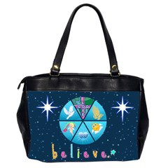 Believe Office Handbag, #2 By Joy Johns   Oversize Office Handbag (2 Sides)   Kvy8iophkwbz   Www Artscow Com Back