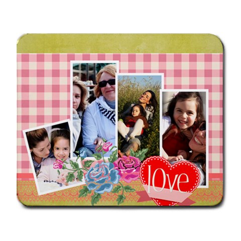 Mothers Day By Mom   Collage Mousepad   U1col2smk76f   Www Artscow Com 9.25 x7.75 Mousepad - 1