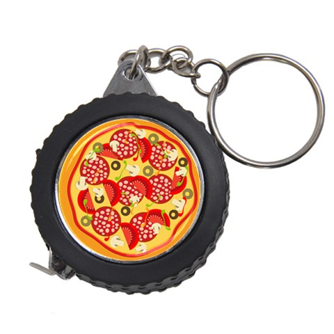Pizza By Divad Brown   Measuring Tape   Fb7lg5k8t7a9   Www Artscow Com Front