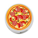 pizza - 4-Port USB Hub (One Side)