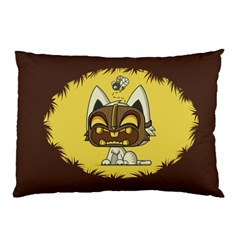 Tiki Kitty Pillow Case (two Sides) by Contest1914104