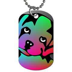 Dog Dog Tag (one Sided) by Siebenhuehner