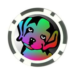 Dog Poker Chip (10 Pack)