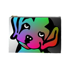 Dog Cosmetic Bag (large) by Siebenhuehner