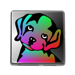 Dog Memory Card Reader With Storage (square) by Siebenhuehner