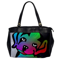Dog Oversize Office Handbag (One Side) by Siebenhuehner