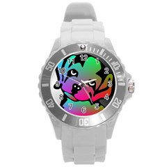 Dog Plastic Sport Watch (large) by Siebenhuehner
